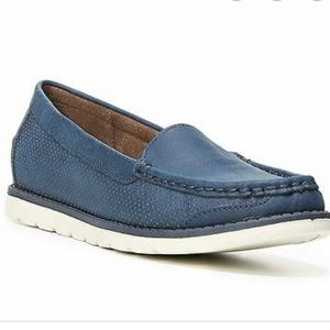 Natural Soul Irene Navy Loafer Size 8